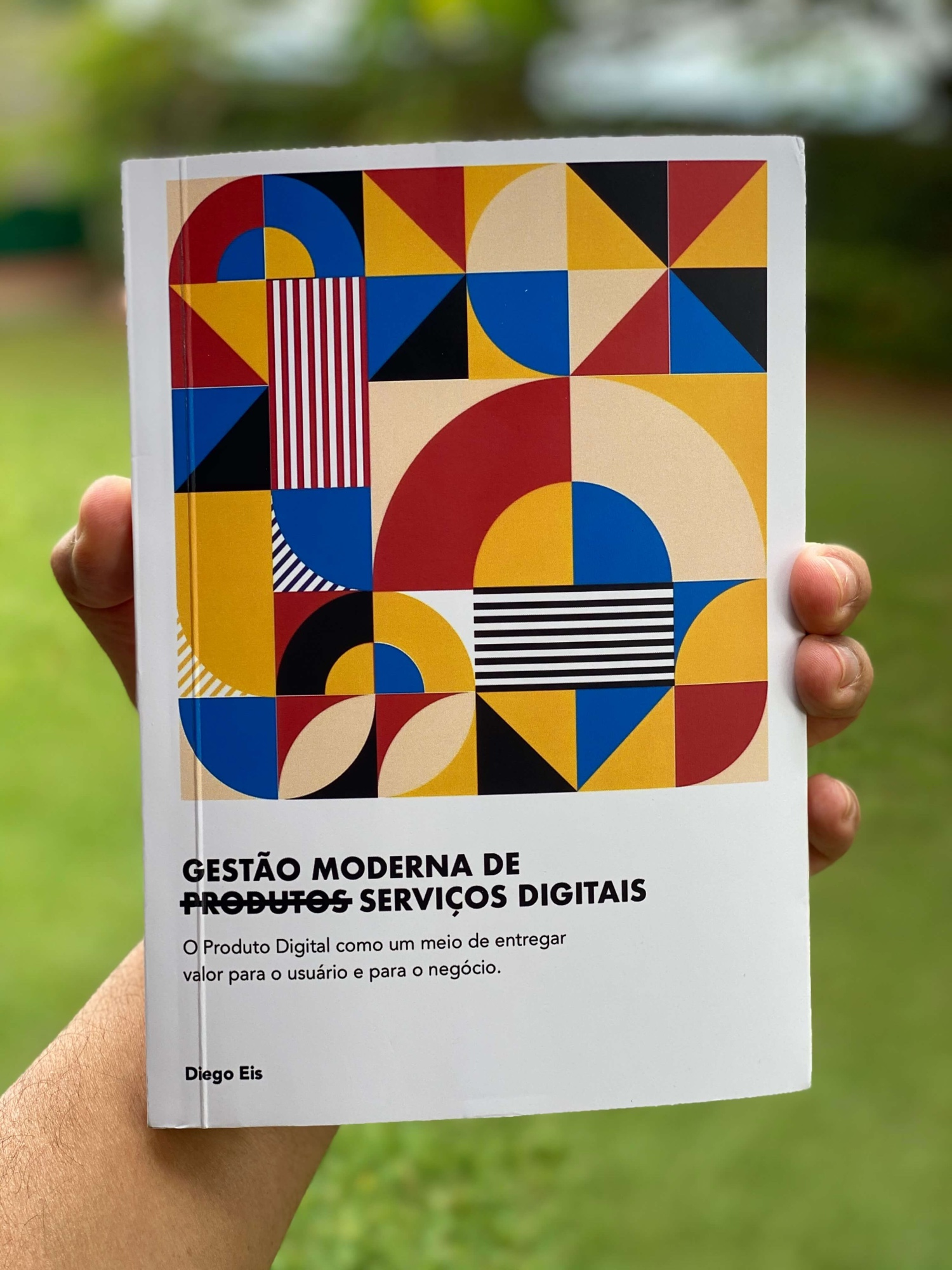 Capa do meu novo livro Gestão Moderna de Produtos Digitais