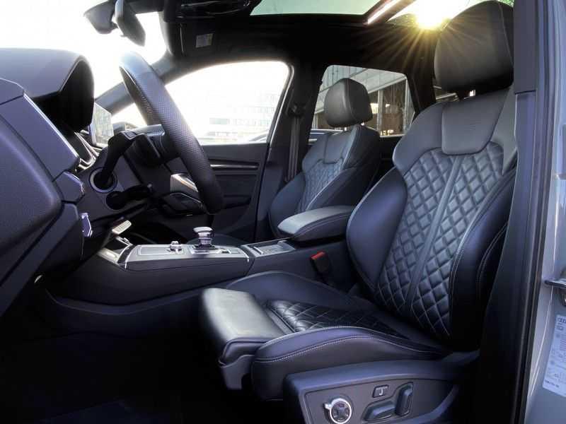 Audi SQ5 3.0TFSI 354pk Quattro Black Optic Alle Opties! Individual Lucht Tr.Haak Standk Ruitleder 360Cam afbeelding 24