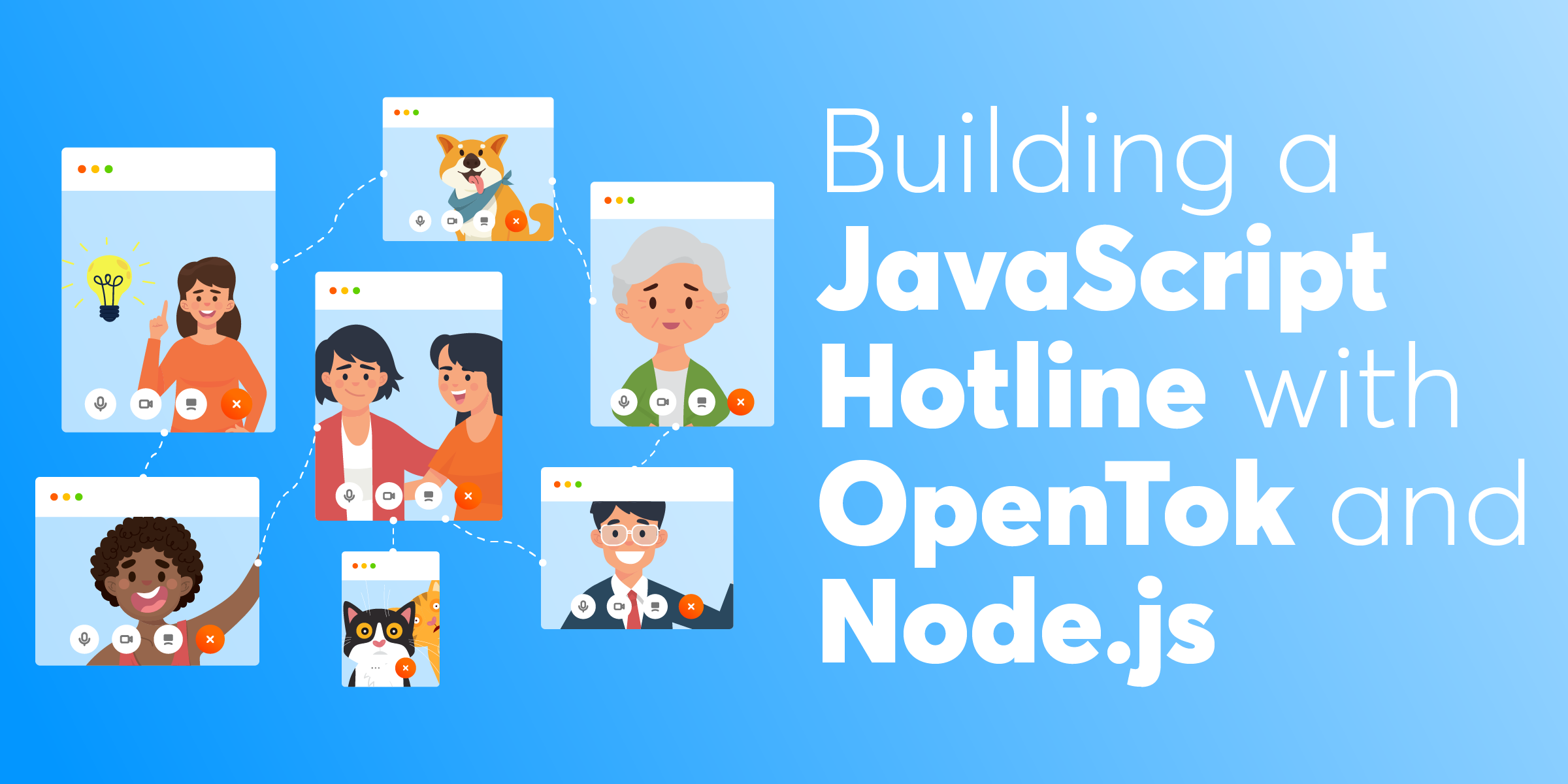 Building a JavaScript Hotline with OpenTok and Node.js