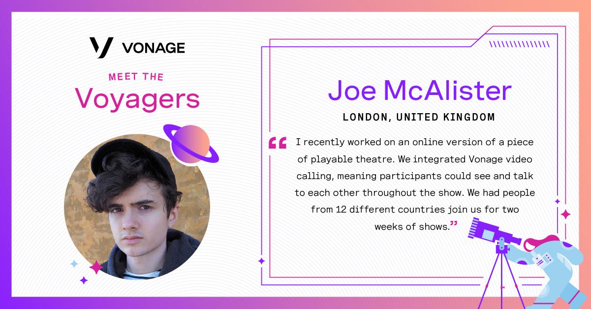 Joe McAllister - Vonage Voyager