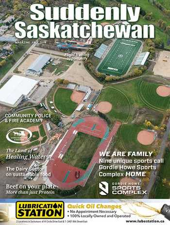 Suddenly Saskatchewan Magazine - Issue: Fall 2019
