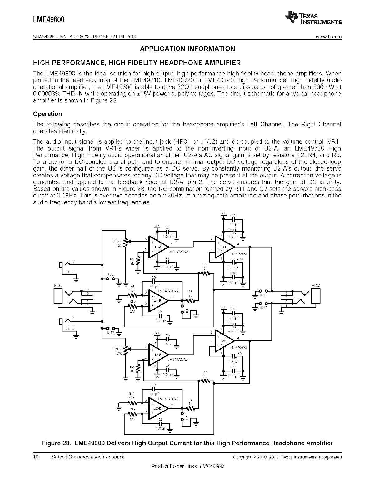 LME49600-10