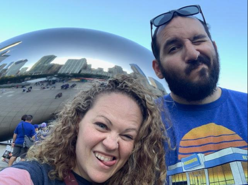 Khalid and Nicole In Chicago