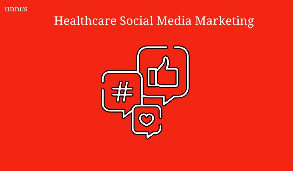 Illustration of Healthcare Social Media Marketing