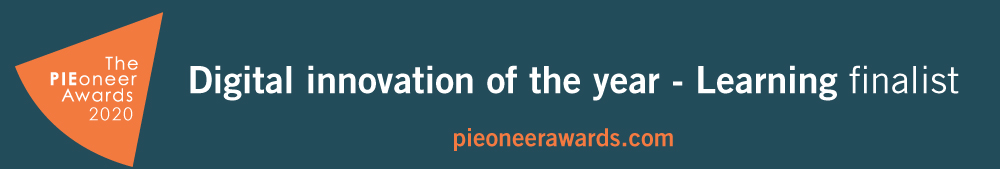 Pioneer Awards 2020 Digital innovation of the year - Learning finalist