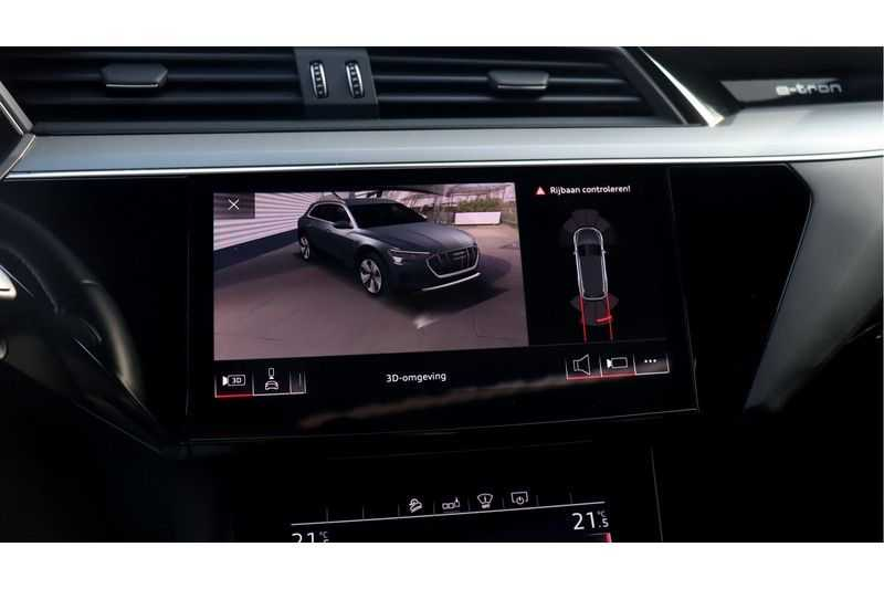 Audi e-tron 55 quattro Advanced Bang & Olufsen, Panoramadak, Head-Up Display, Soft-Close afbeelding 19