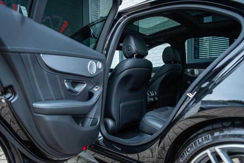 Mercedes-Benz C-Klasse 63 AMG, 476 PK, Pano/Dak, Distronic, Night/Pakket, Burmester, LED, Keyless, 30DKM, Nieuwstaat, BTW!! afbeelding 15