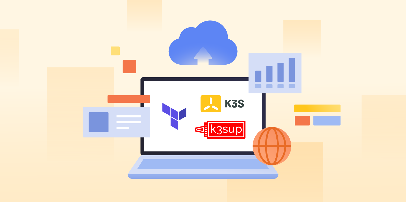 Provision k3s on Google Cloud with Terraform and k3sup