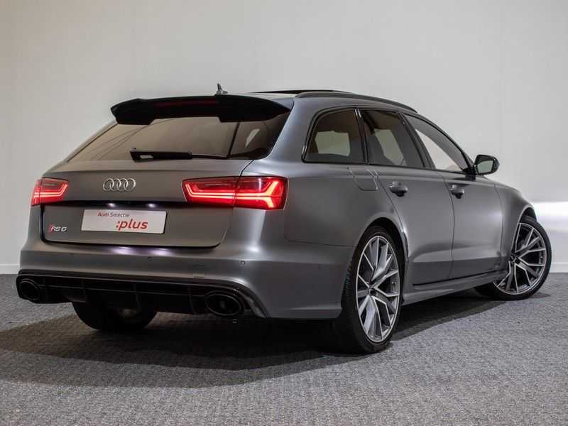 Audi A6 Avant 4.0 TFSI RS6 quattro perfomance | Dynamiekpakket plus | Carbon Optiek | B&O advanced | RS-sportuitlaat | DAB+ | Head-up display | Alcantara Hemel | Pano dak | Nachtzicht | afbeelding 15