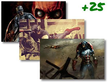 Captain America theme pack