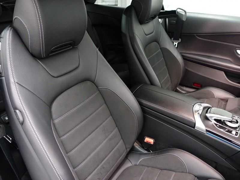 Mercedes-Benz C-Klasse Cabrio 180 Ultimate AMG Edition Aut- Leer, Navi, Led, LMV , 40dkm ! afbeelding 14