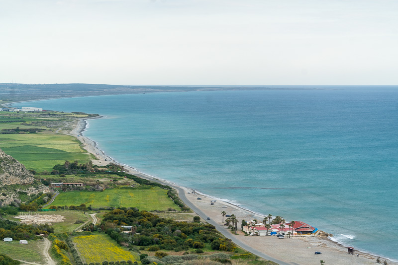 Kourion Beach, Episkopi, Western Sovereign Base Area (Cyprus), United Kingdom