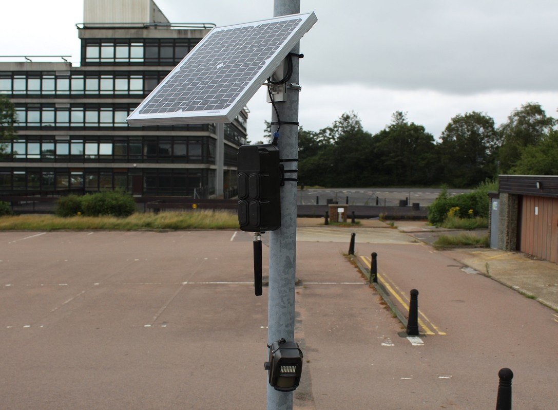 Battery CCTV and Alarm With Solar