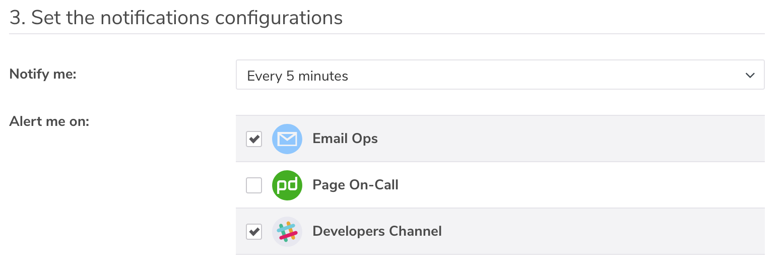 Example Notification Configuration