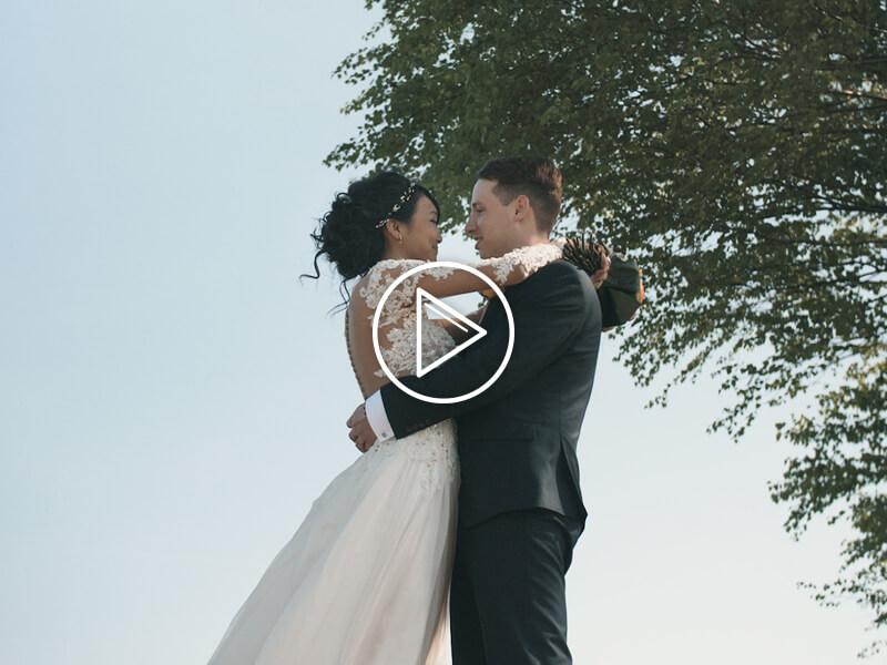 Karina a Tomáš svatební video