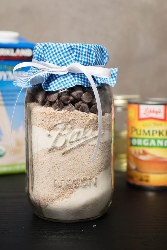homemade vegan muffin mix