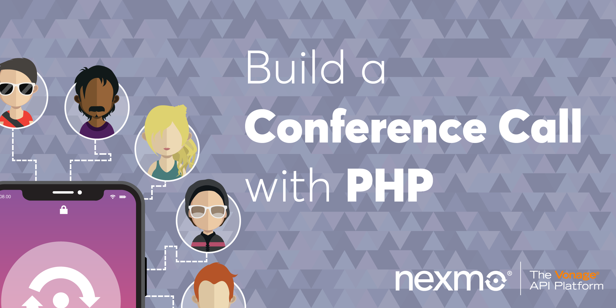 Build a Conference Call with the Nexmo Voice API and PHP