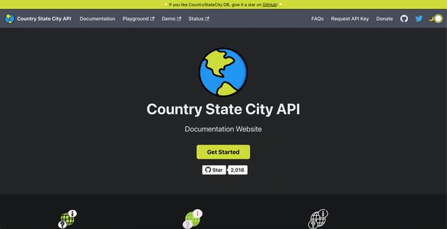 Country State City API