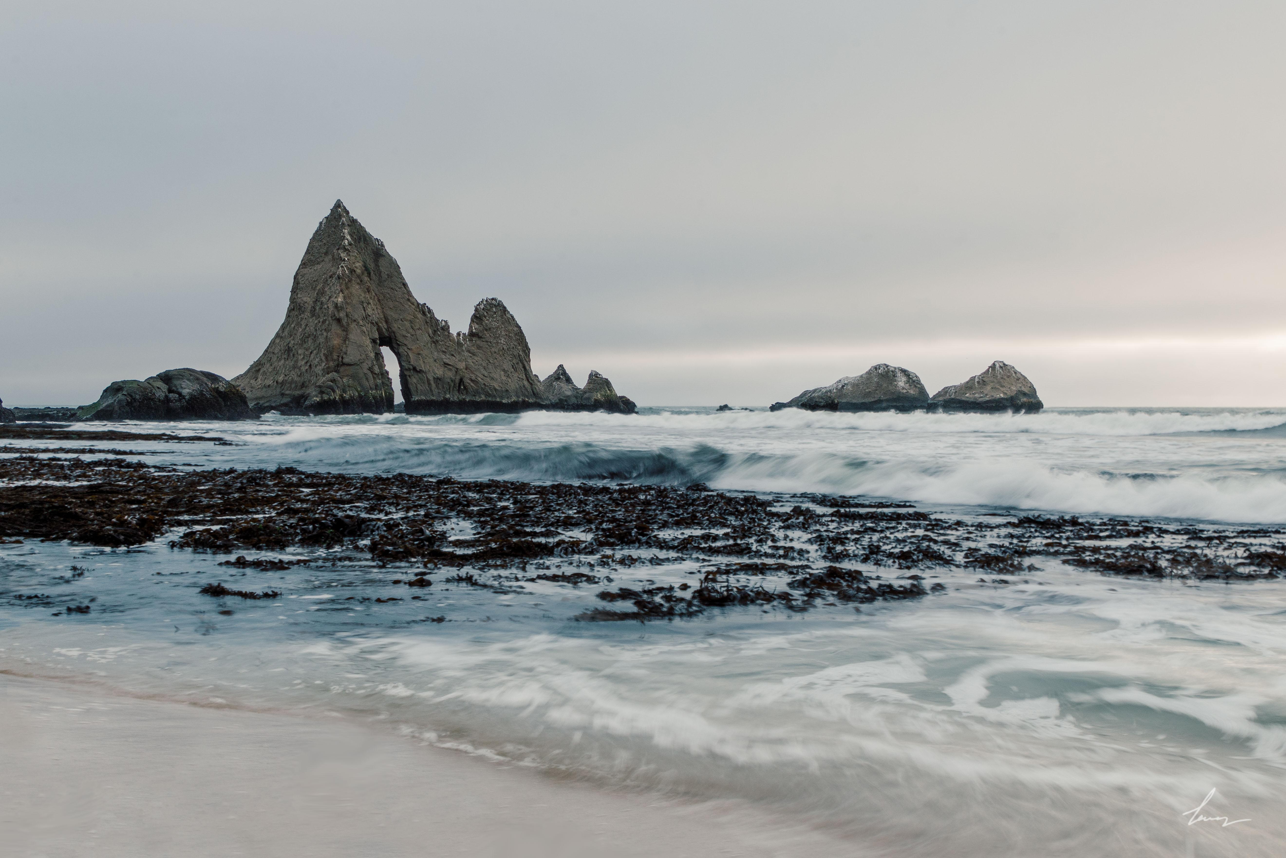 Martin's Beach - Half Moon Bay, California