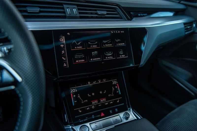 Audi e-tron 55 Quattro Advanced Exterieur, 408 PK, 4% bijtelling, Head/Up display, Pano/Dak, Night/Vision, S-line interieur, 15DKM afbeelding 10