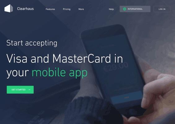 Online Acquiring · Accept Visa & MasterCard within 1-3 days