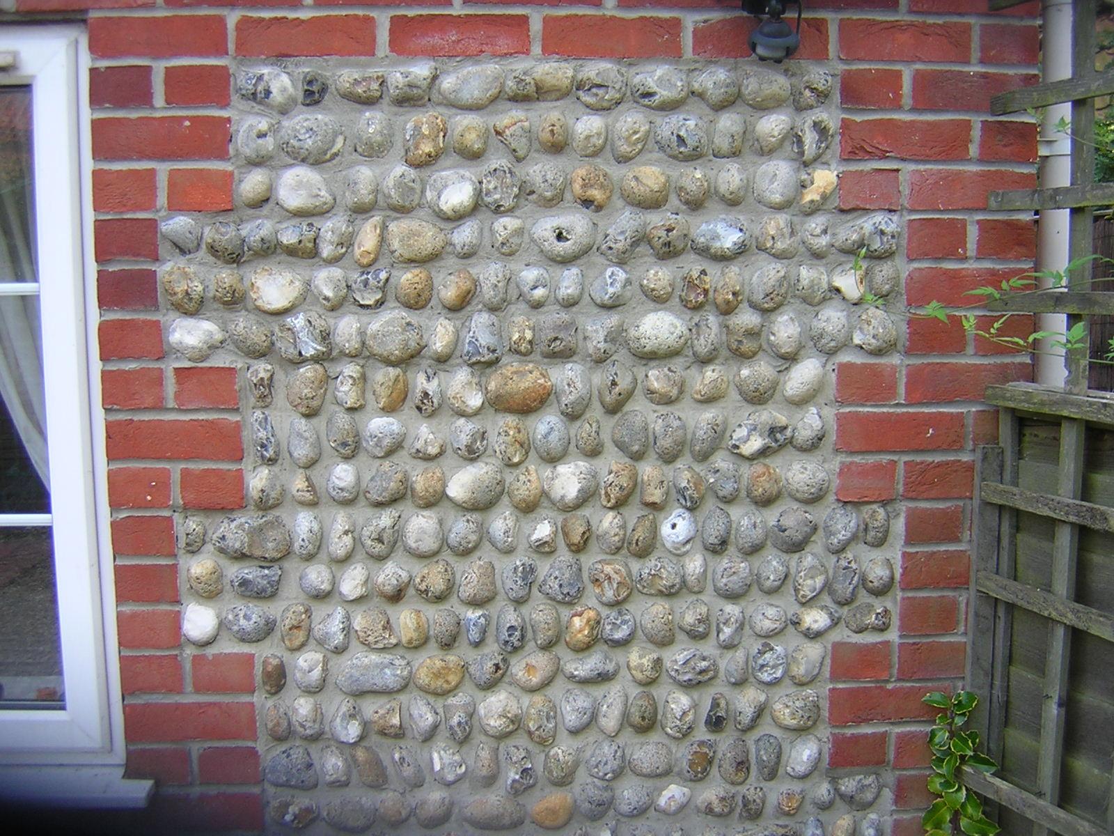 Flint wall texture