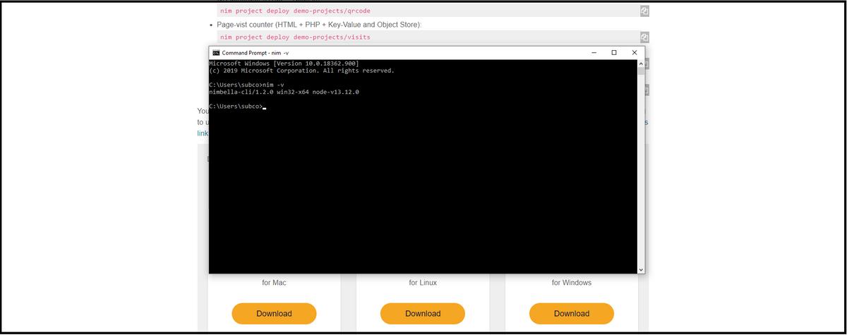 run serverless cloud apps Slack