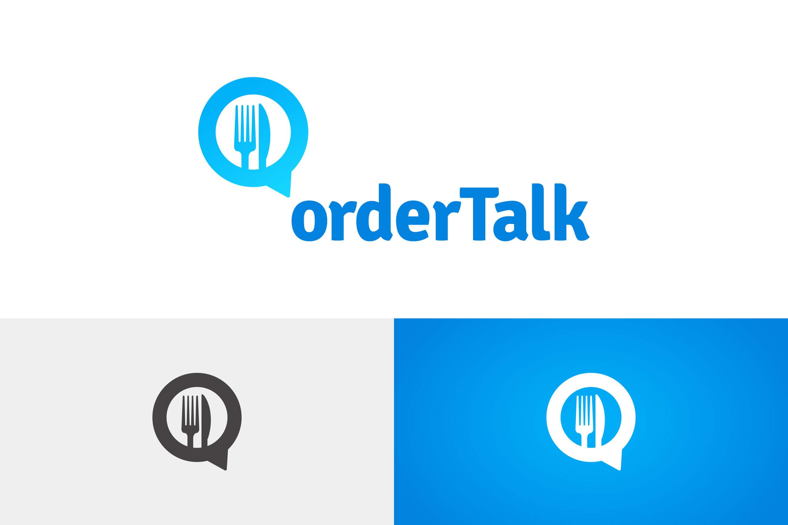 logo design for oderTalk