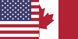 flag of USA & Canada