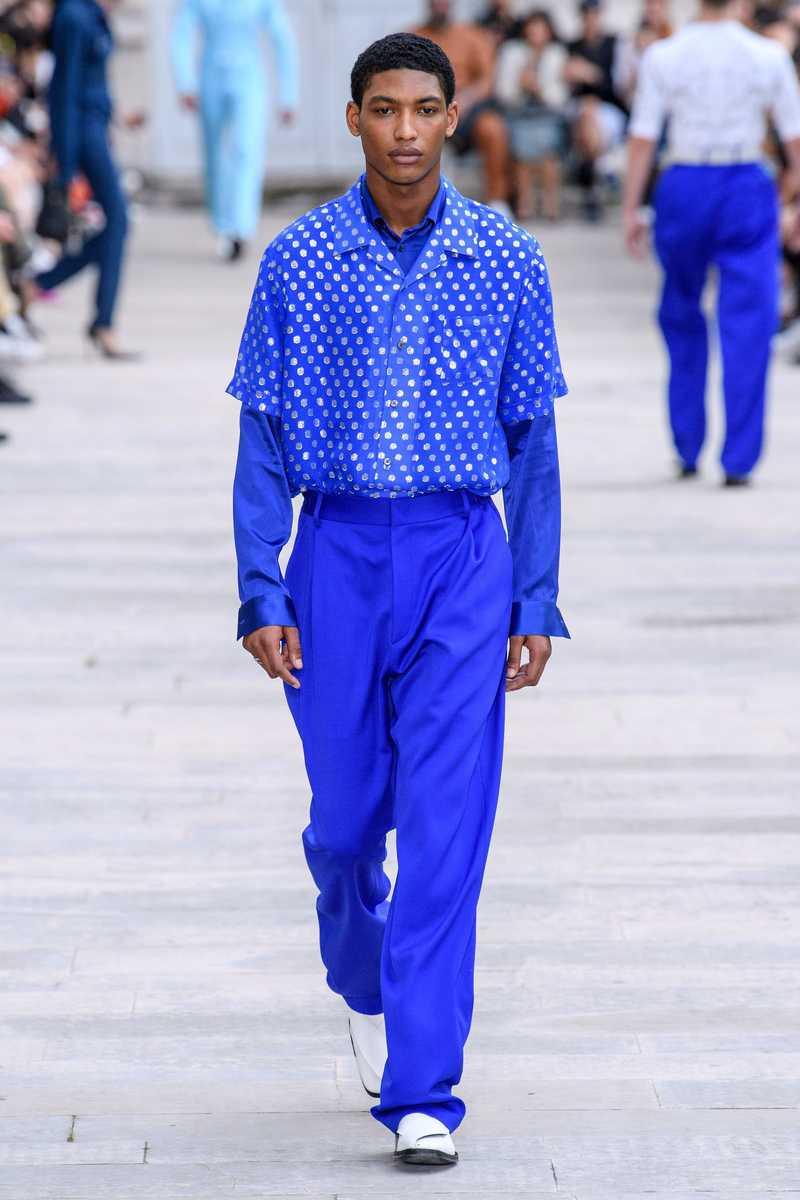Luka Bowling Shirt Blue. GmbH SS20 Available at gmbhgmbh.eu