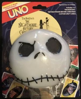 Nightmare Before Christmas Uno