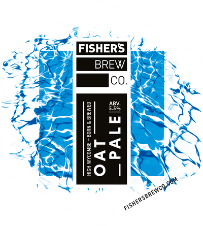 Fisher's Oat Pale pump clip