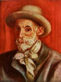 A 'Self-portrait' by Auguste Renoir