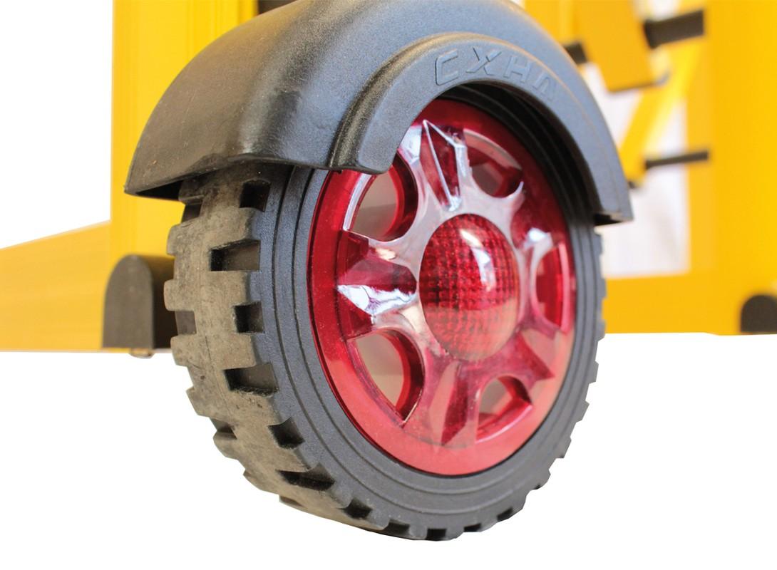 Centipede Barrier Wheel