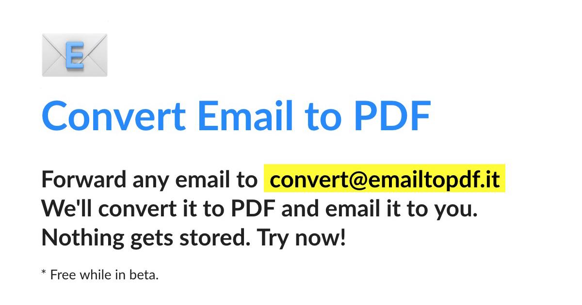 emailtopdf.it