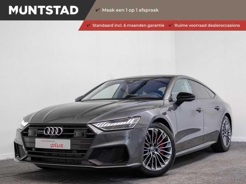 Audi A7 Sportback 55 TFSI e quattro Pro Line | 367PK | Plug in Hybrid | Adapt. Cruise | Pano.Dak | Keyless-entry | Head-Up | 360-Camera | Trekhaak | B&O Sound afbeelding 25