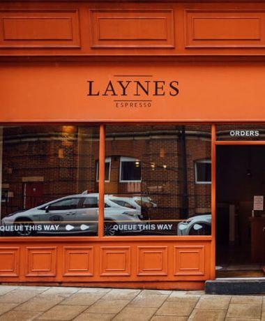 Laynes Espresso outside