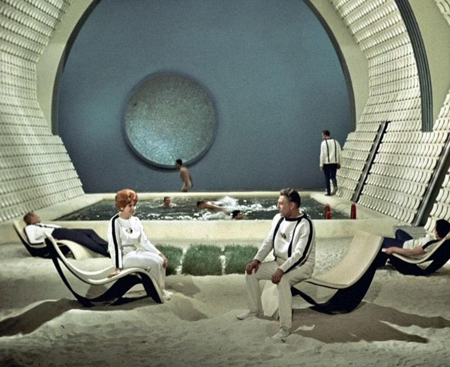Кадр из советского фильма «Туманность Андромеды» (1967 г.), экранизации романа Ивана Ефремова
