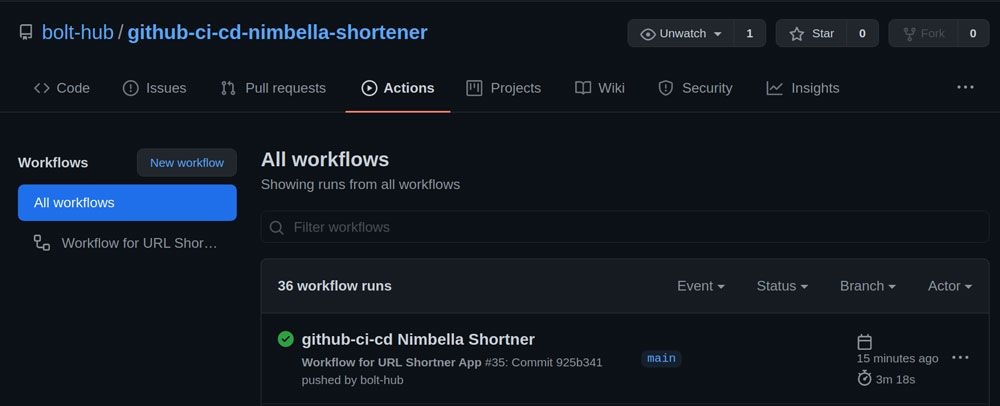 GitHub Actions Triggers Workflow