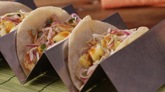 Cantina-Style Fish Tacos