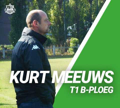 Kurt Meeuws nieuwe T1 B-ploeg!