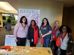 """Ultimate Medical Academy Joins American Heart Association's Campaign to """"Go Red for Women"""""""