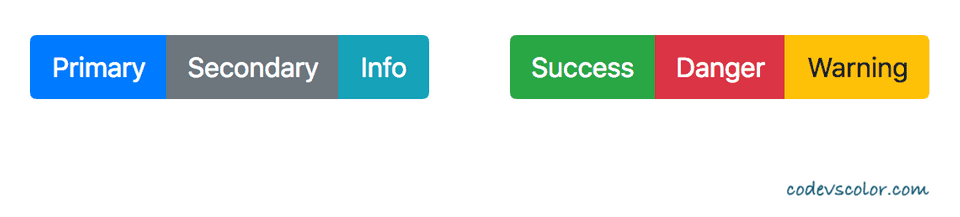bootstrap button group