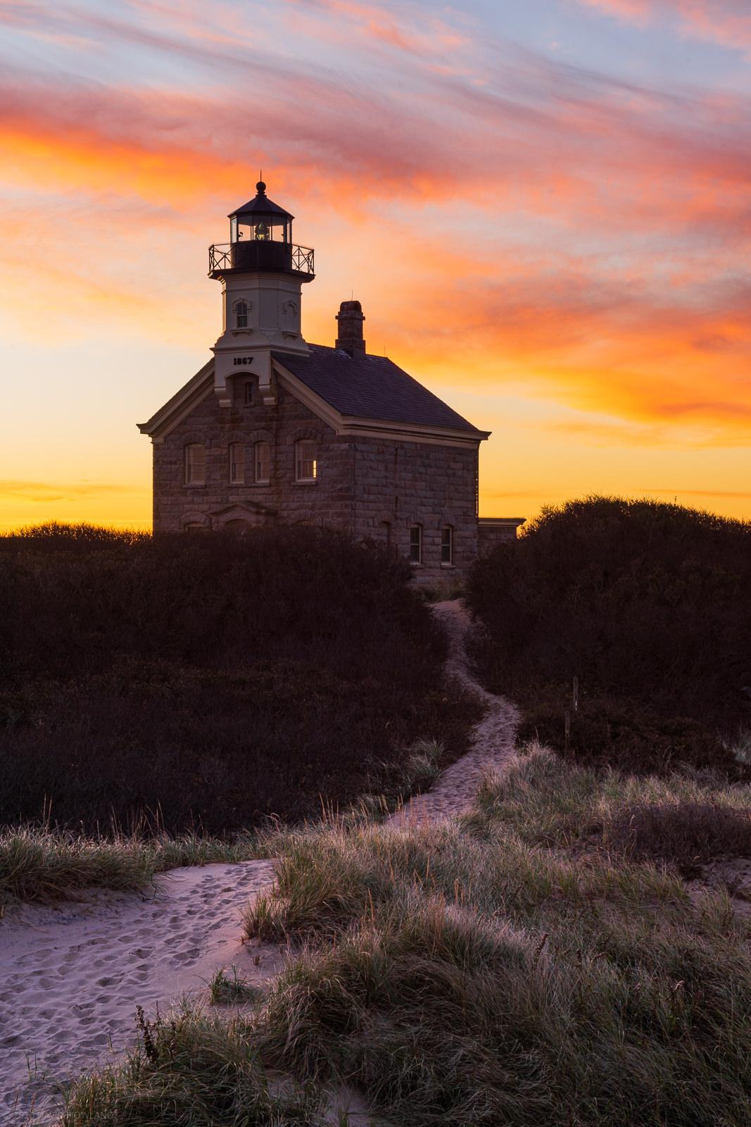Block Island North Light Sunrise