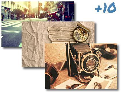 Retro Vintage theme pack