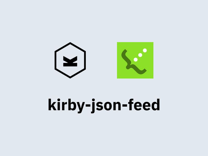 kirby-json-feed