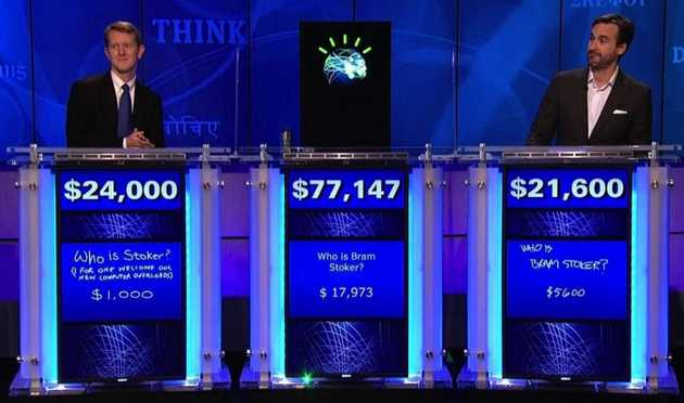 IBM's Watson: I'd bet on him. I wouldn't hang out with him.