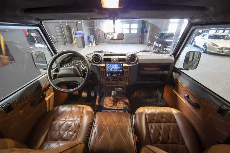 Land Rover Defender 2.4 TD 110 SW SE 7-zits Extreem compleet! afbeelding 6