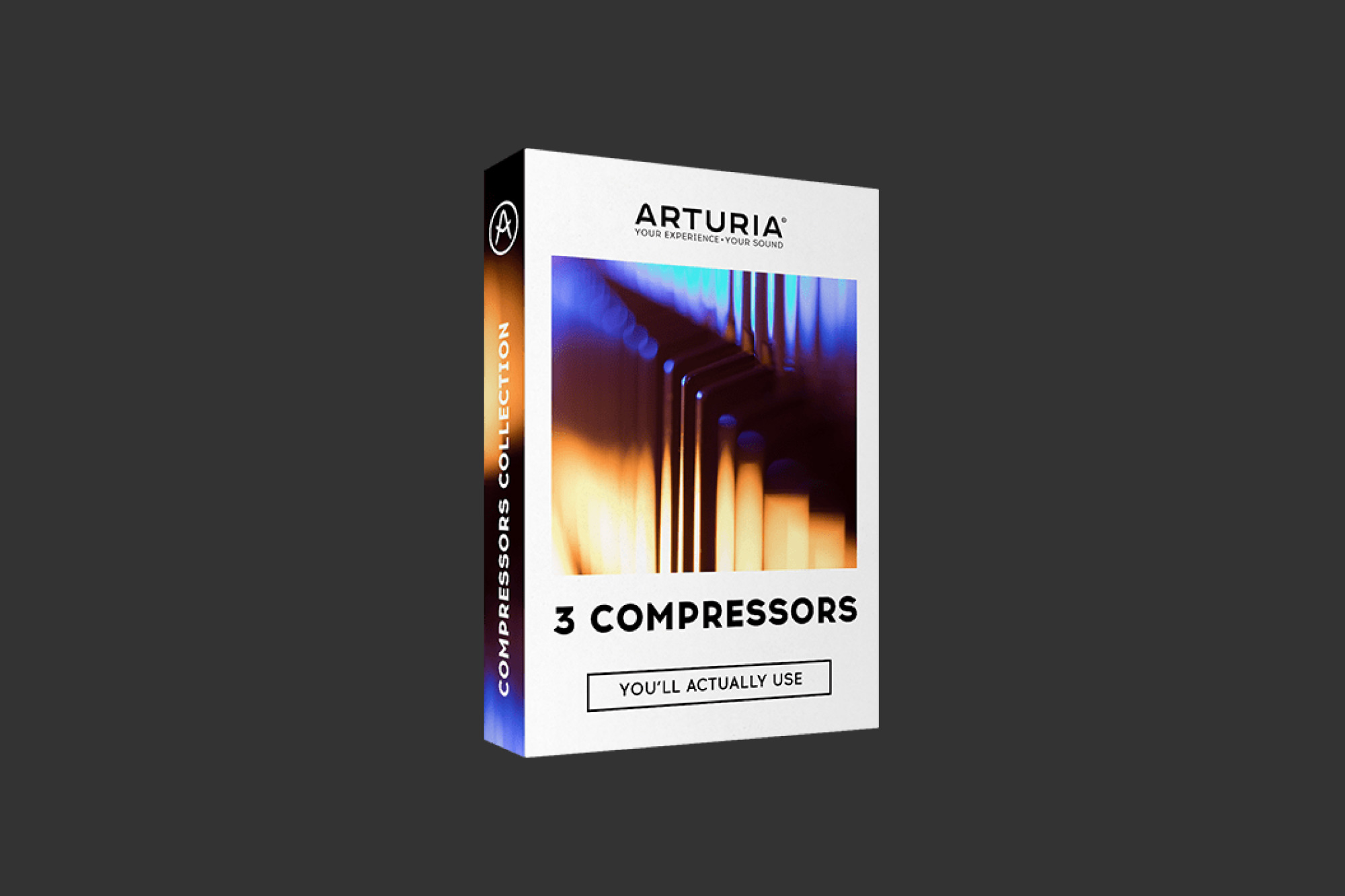 An image of the Arturia 3 Compressors.