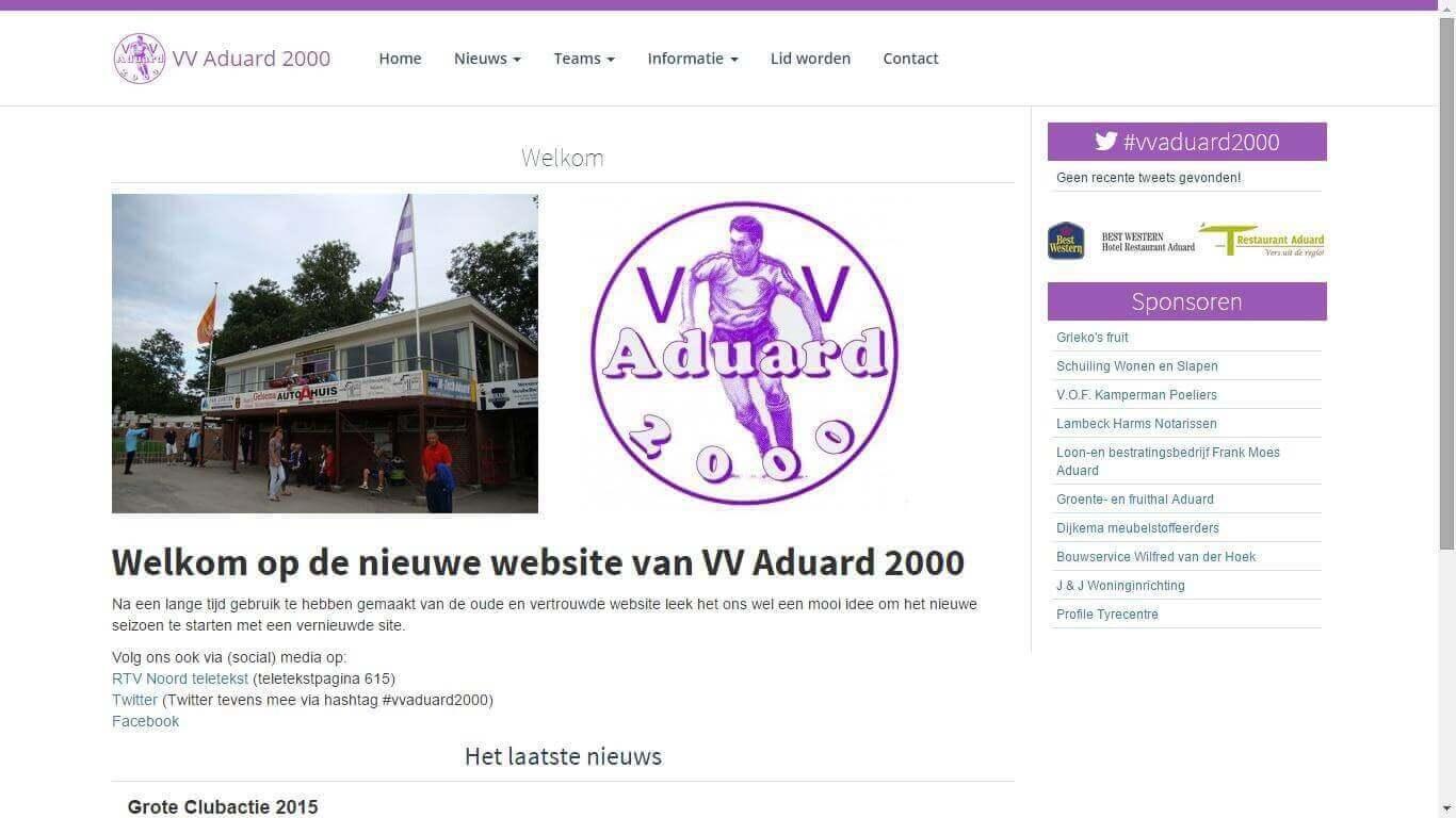 VV Aduard 2000 screenshot